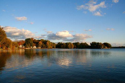 Hutchins Lake View Fall