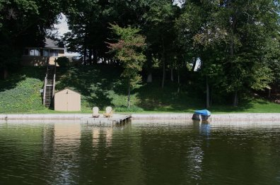 Shoreline from Lake
